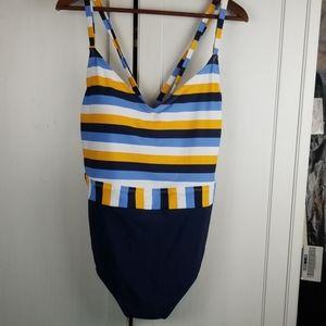 Kona sol bathing suit one piece 22w